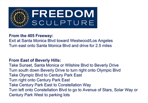 Freedom Festival Directions