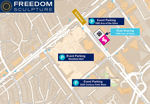 Freedom Festival Parking Map